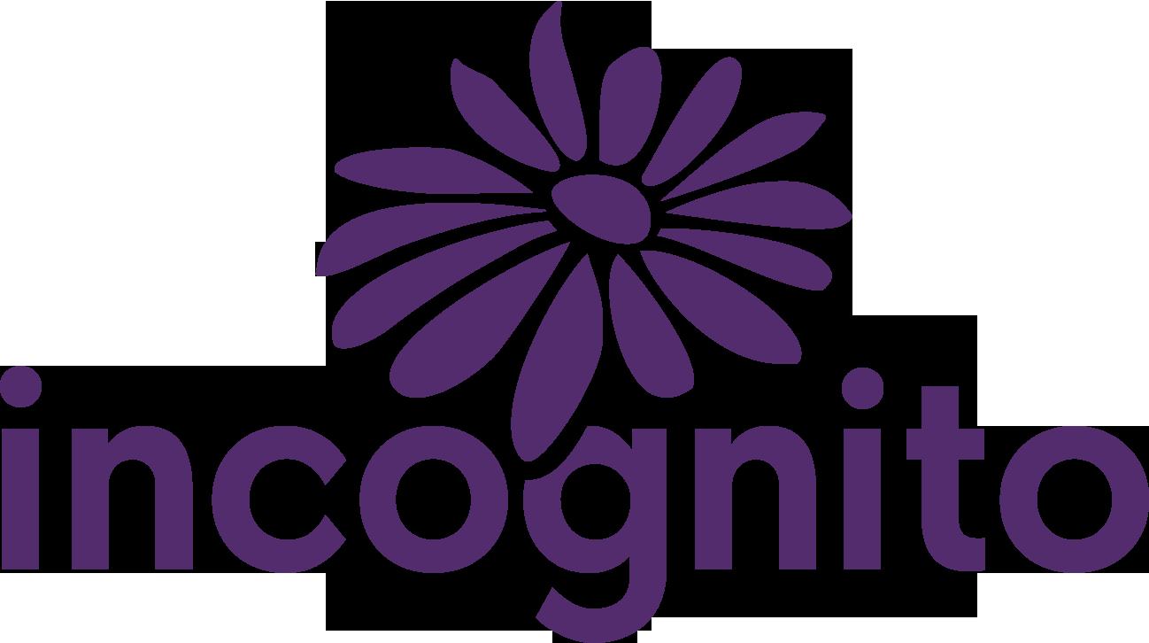 Incognito Logo Mauve